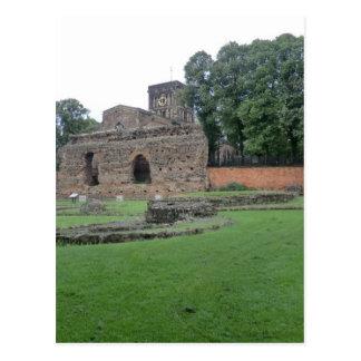 Roman Bathhouse in Leicester, England Postcard