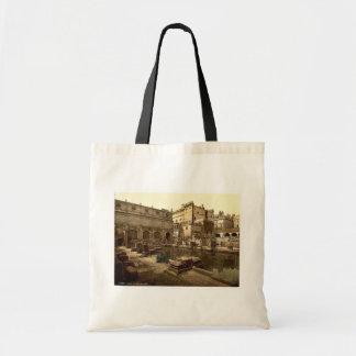 Roman Baths and Abbey, Bath, England classic Photo Tote Bag