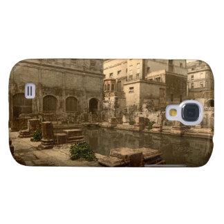 Roman Baths and Abbey I, Bath, Somerset, England Galaxy S4 Case