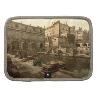 Roman Baths and Abbey I, Bath, Somerset, England Folio Planner