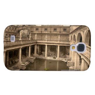 Roman Baths and Abbey, II, Bath, England Galaxy S4 Cover
