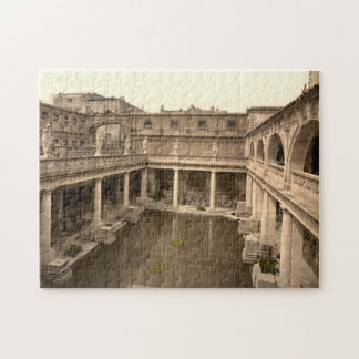Roman Baths and Abbey II, Bath, Somerset, England Jigsaw Puzzle