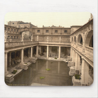 Roman Baths and Abbey II, Bath, Somerset, England Mouse Pad