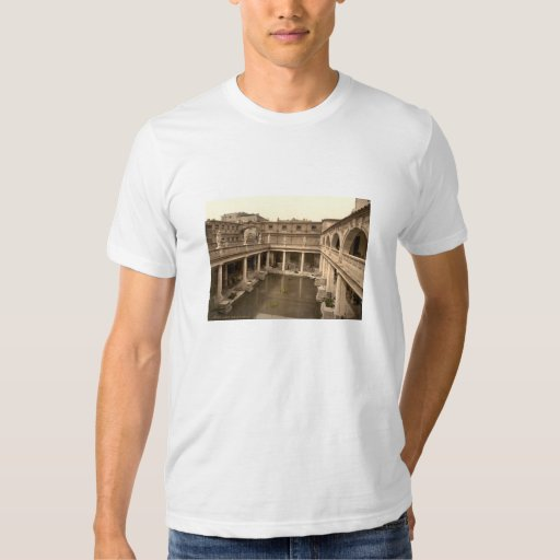 Roman Baths and Abbey II, Bath, Somerset, England Shirt