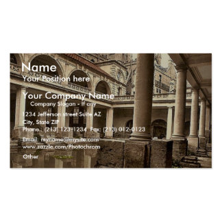 Roman Baths and Abbey, III, Bath, England classic Double-Sided Standard Business Cards (Pack Of 100)