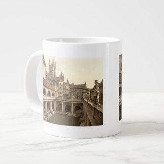 Roman Baths and Abbey, IV, Bath, England Giant Coffee Mug