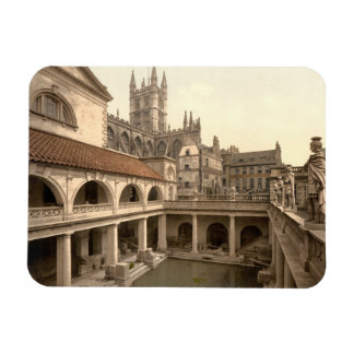Roman Baths and Abbey, IV, Bath, England Rectangular Photo Magnet