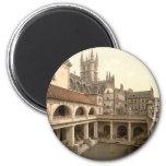 Roman Baths and Abbey IV, Bath, Somerset, England Fridge Magnets