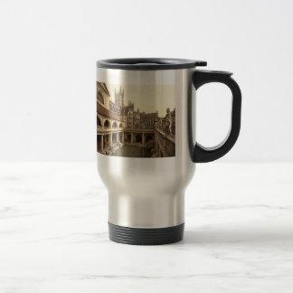 Roman Baths and Abbey IV, Bath, Somerset, England Travel Mug
