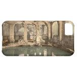 Roman Baths and Abbey V, Bath, Somerset, England iPhone 5C Cover