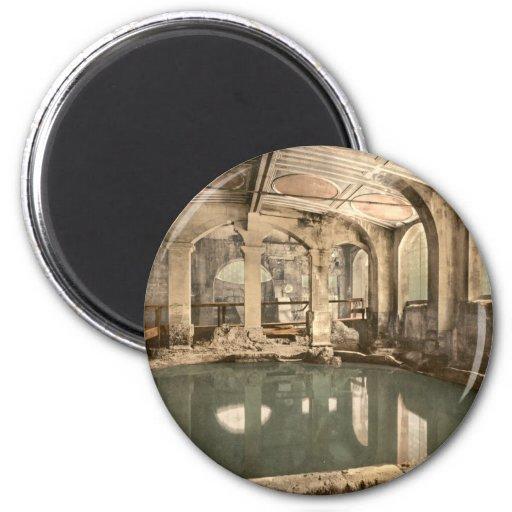 Roman Baths and Abbey V, Bath, Somerset, England Fridge Magnets