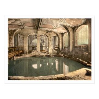 Roman Baths and Abbey V, Bath, Somerset, England Postcard