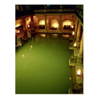 Roman Baths, Avon, England Postcard