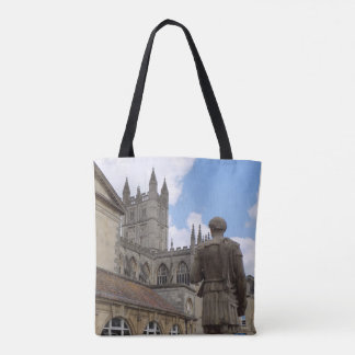 Roman Baths Bath Abbey England Travel Tote Bag