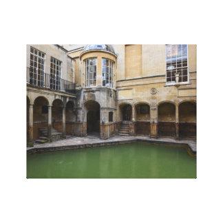 Roman Baths in Bath, England Canvas Print