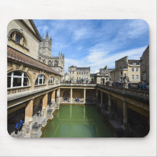 Roman Baths in Bath England Mouse Pad