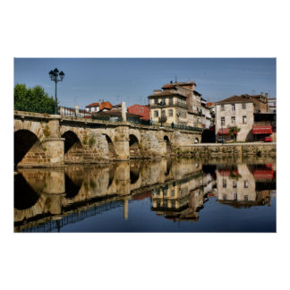 Roman Bridge at Chaves, Portugal Posters