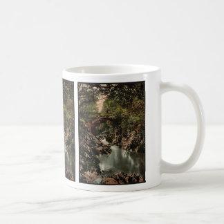 Roman bridge I, Bettws-y-Coed (i.e. Betws), Wales Classic White Coffee Mug