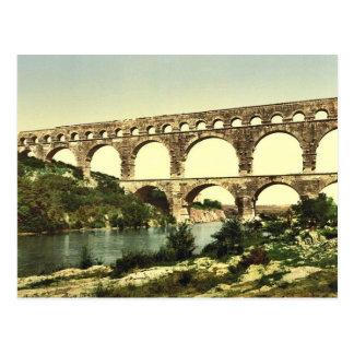 Roman bridge over the Gard, constructed by Agrippa Postcard