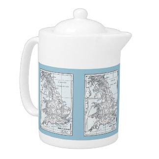 Roman Britain 43 AD Teapot
