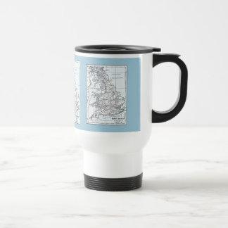 Roman Britain 43 AD Travel Mug