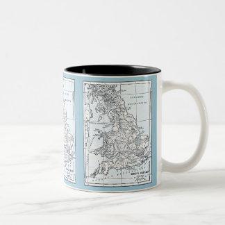 Roman Britain 43 AD Two-Tone Coffee Mug