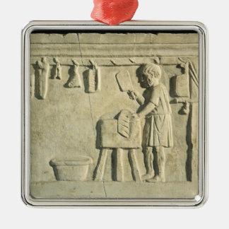 Roman Butcher's, relief Metal Ornament