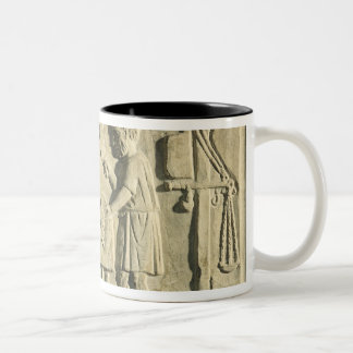 Roman Butcher's, relief Two-Tone Coffee Mug