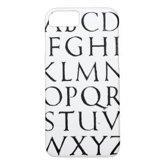 Roman Capitals iPhone 8/7 Case