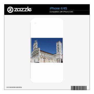 Roman Catholic basilica church Decal For iPhone 4