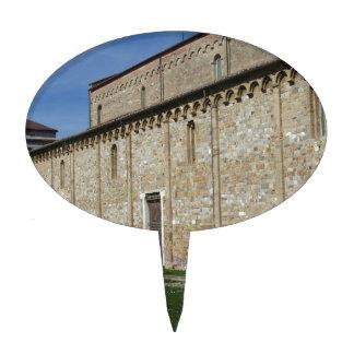 Roman Catholic basilica church of San Pietro Cake Topper