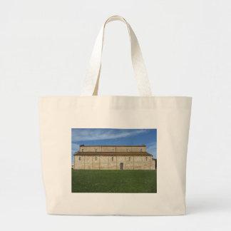 Roman Catholic basilica church of San Pietro Large Tote Bag