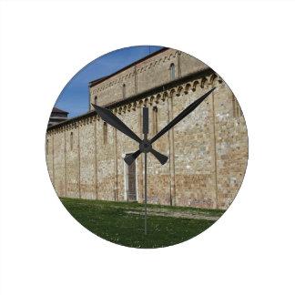 Roman Catholic basilica church of San Pietro Round Clock