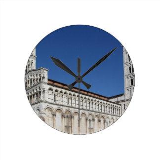Roman Catholic basilica church Round Clock