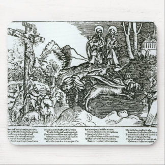 Roman Catholicism and Lutheranism Contrasted Mouse Pad