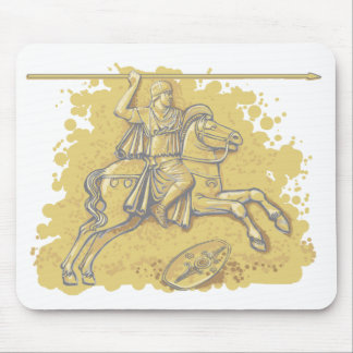 Roman cavalry Auxiliary.  Mousepad. Mouse Pad