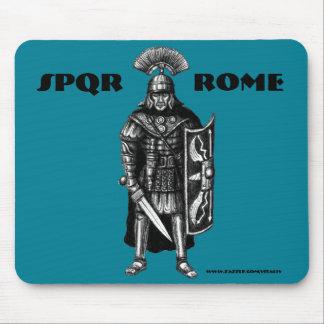 Roman centurion ink pen drawing art mouse pad