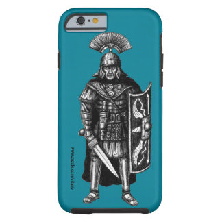 Roman centurion ink pen drawing art tough iPhone 6 case