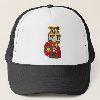 Roman Centurion Lion Soldier Trucker Hat