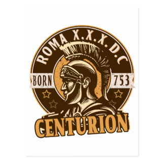 Roman Centurion Postcard