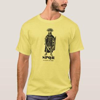 Roman centurion SPQR ink pen drawing art T-Shirt