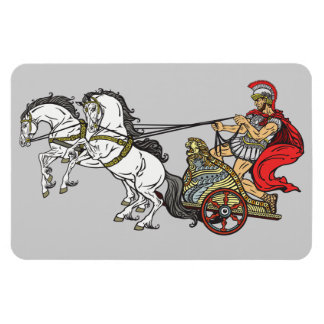 roman chariot magnet