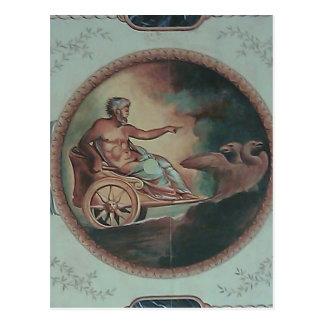 Roman Chariot Postcard