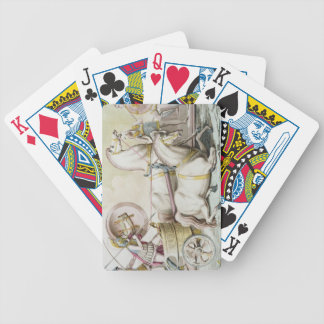 Roman Charioteers, from 'Costumi dei Romani', engr Bicycle Playing Cards
