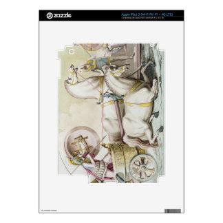 Roman Charioteers, from 'Costumi dei Romani', engr Skins For iPad 3