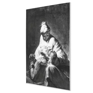 Roman Charity Canvas Print