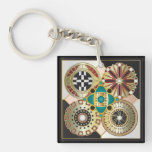 Roman Christmas 01 & 02 Keychain