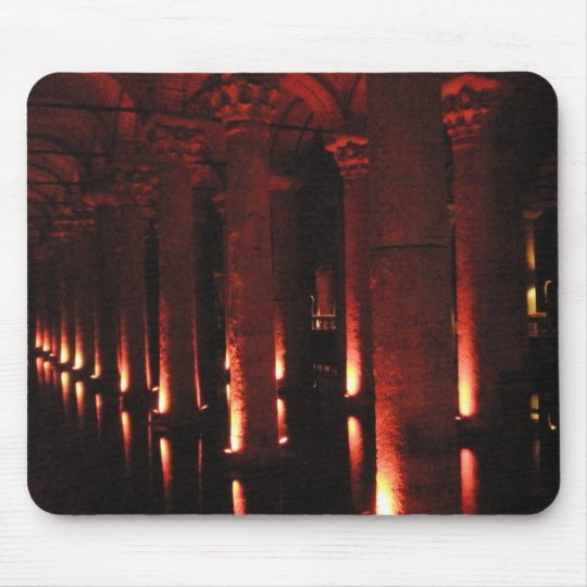 Roman Cistern 3 Mouse Pad