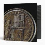 Roman coin depicting an Organ 3 Ring Binder