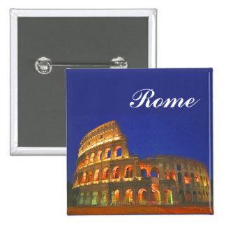 Roman Coliseum 2 Inch Square Button